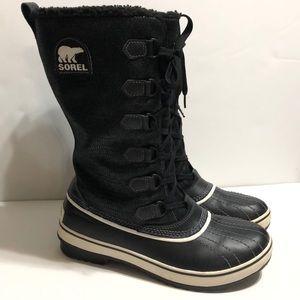 Sorel Tivoli Tall High Black Winter Boots
